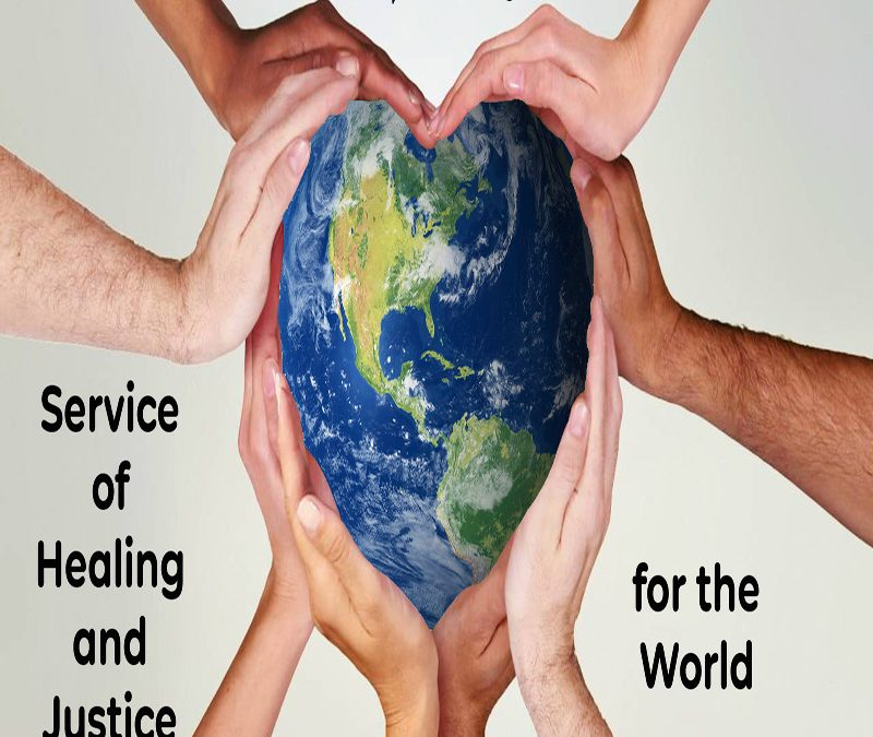 Online Service of Healing and Justice for the World – 7:00 p.m. on 5.31.2020