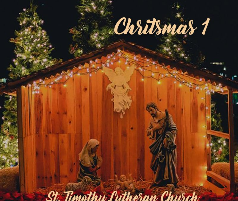 Online Worship – 9:00 a.m. – Christmas 1 – 12.27.2020